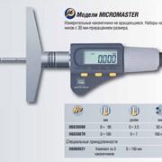 Микрометрический глубиномер MICROMASTER фото