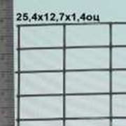 Сварная сетка оцинкованная 25,4*12,7*1,4 мм (цинка до 50 г/м2) фото