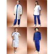 Пошив, поставка, халаты, костюмы, пижамы, рабочая одежда, медицинские халаты, костюмы, спецодежда фото