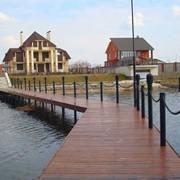 Строительство сооружений на воде под ключ. фото