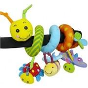 """Подвеска- погремушка спираль """"Счастливый жучек"""" 074GD Biba Toys фото"""