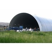 Строительство бескаркасных арочных сооружений. фото