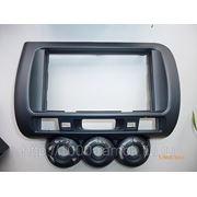 Рамка Honda Fit 01-07 2 din с механической печью, сероголубая, 2 din фото