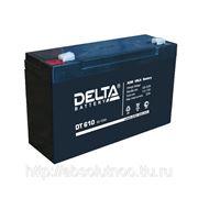 Аккумуляторные батареи Delta DT 1218 фото