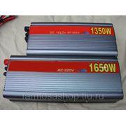 Автомобильный преобразователь тока с 12V на 220V - 1350 W.