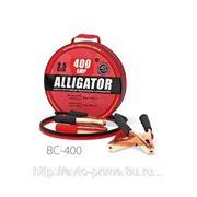 Провода прикуривания Аллигатор, морозостойкие, 400 А,, длина 2,5 м., брезент. сумка, 1/10 фото