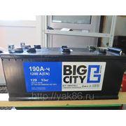 "Аккумуляторная батарея ""Big City"" 190 Ah фото"