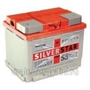Аккумуляторная батарея стартерная SilverStar Hybrid 6СТ-60 L (0/1) фото