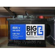 "Аккумуляторная батарея ""Big City"" 60 Ah о/п фото"