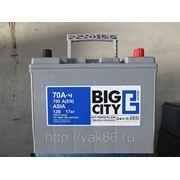 """Аккумуляторная батарея """"Big City""""asia 70D26L фото"""