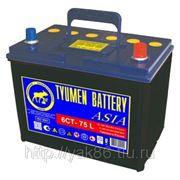 Аккумуляторная батарея 75 Ah «Азия» о/п фото