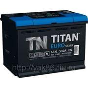 Аккумуляторная батарея TITAN EURO Silver 63.0 фото