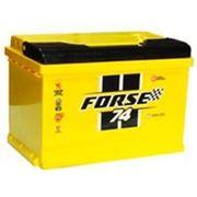 Аккумуляторная батарея FORSE 74 о/п. фото