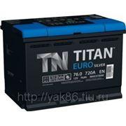 Аккумуляторная батарея TITAN EURO Silver 76.0 фото