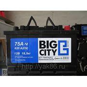 "Аккумуляторная батарея ""Big City"" 75 Ah о/п фото"
