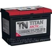 Аккумуляторная батарея TITAN ARCTIC Silver 55.0 фото