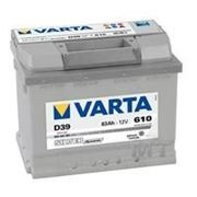 Аккумуляторная батарея D39 Varta silver dynamic 63. Индекс производителя 563 401 061. фото