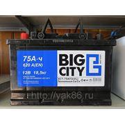 "Аккумуляторная батарея ""Big City"" 75 Ah фото"