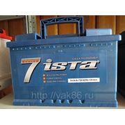 """Aккумуляторная батарея """" Ista 7 series"""" 74 Ah о/п фото"""