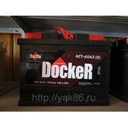 "Аккумуляторная батарея ""Docker"" 60 Ah о/п фото"