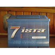 """Aккумуляторная батарея """" Ista 7 series"""" 56 Ah о/п фото"""