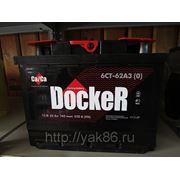 "Аккумуляторная батарея ""Docker"" 62 Ah о/п фото"