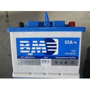 "Аккумуляторная батарея ""BМ"" 55 Ah о/п фото"