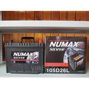 "Аккумуляторная батарея ""Numax"" 105D26L фото"