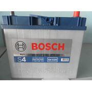 Аккумуляторная батарея BOSCH Silver 45. Индекс производителя 545 155 033. фото