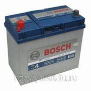 Аккумуляторная батарея BOSCH Silver 45. Индекс производителя 545 158 033. фото