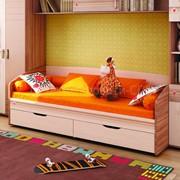 Детская кровать Британия с ящиками фото
