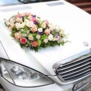 Свадебное оформление автомобиля фото