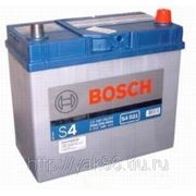 Аккумуляторная батарея BOSCH Silver 45. Индекс производителя 545 156 033. фото