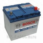 Аккумуляторная батарея BOSCH Silver 60. Индекс производителя 560 410 054. фото