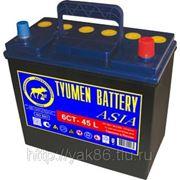 Аккумуляторная батарея 45 Ah «Азия» о/п фото