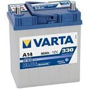 Аккумуляторная батарея A14 Varta blue dynamic 40. Индекс производителя 540 126 033. фото