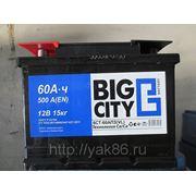 "Аккумуляторная батарея ""Big City"" 60 Ah фото"