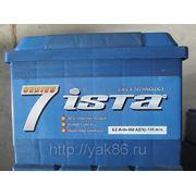 """Aккумуляторная батарея """" Ista 7 series"""" 62 Ah о/п фото"""