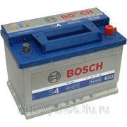 Аккумуляторная батарея BOSCH Silver 74. Индекс производителя 574 012 068. фото