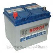 Аккумуляторная батарея BOSCH S4 60Ah (232х173х225) фото