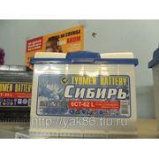 Аккумуляторная батарея «Сибирь» 62Ah фото