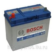 Аккумуляторная батарея BOSCH Silver 45. Индекс производителя 545 157 033. фото