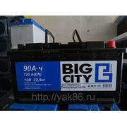 "Аккумуляторная батарея ""Big City"" 90 Ah о/п фото"