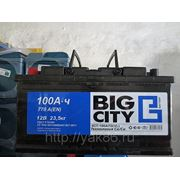 "Аккумуляторная батарея ""Big City"" 100 Ah фото"
