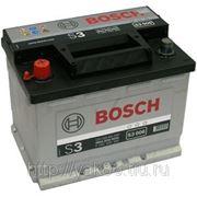 Аккумуляторная батарея BOSCH Silver 56. Индекс производителя 556 401 048. фото