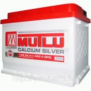 Аккумулятор 60Ач Mutlu Calcium Silver Евро полярность фото