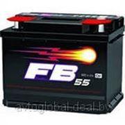 Аккумуляторы FB 6CT-55A3 R 242/175/190 450A фото