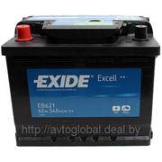 Аккумуляторы EXIDE EB621 фото