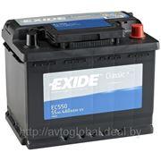 Аккумуляторы EXIDE EC550 фото