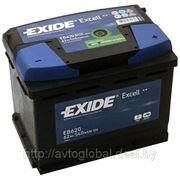 Аккумуляторы EXIDE EB620 фото